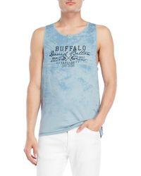 Buffalo David Bitton - Graphic Logo Muscle Tank - Lyst