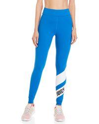 Juicy Couture - Chevron Logo Sport Leggings - Lyst