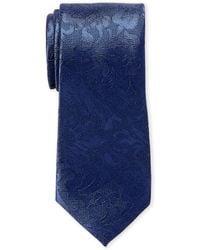 MICHAEL Michael Kors - Silk Classic Paisley Tie - Lyst
