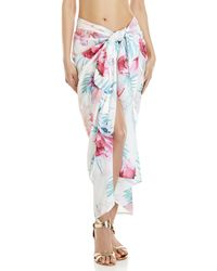 6 Shore Road By Pooja - Floral Printed Pareo - Lyst