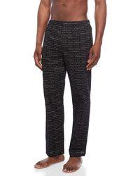 Calvin Klein - Printed Pajama Shorts - Lyst