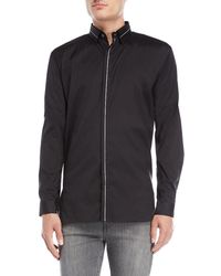 Bolongaro Trevor - Piped Sport Shirt - Lyst