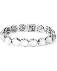 Stephen Dweck - Mother-of-pearl & White Agate Bracelet - Lyst