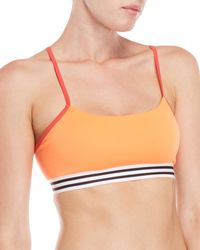 adidas - Strappy Crossback Sports Bra - Lyst
