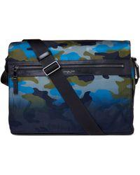 261c81a2d75a Lyst - Michael Kors Grant Large Bonded-canvas Messenger Bag for Men