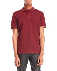 The Kooples - Embroidered Pique Polo - Lyst