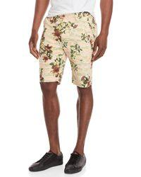 BBCICECREAM - Green Printed Jacquard Shorts - Lyst