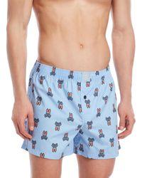 Psycho Bunny - Woven Logo Boxers - Lyst