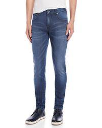 Scotch & Soda - Blue Bath Skim Skinny Fit Jeans - Lyst