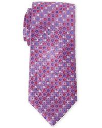 Duchamp - Neat Silk Tie - Lyst