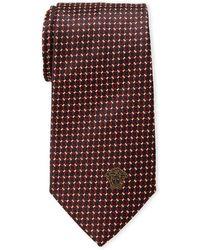 Versace - Linked Circle Silk Tie - Lyst