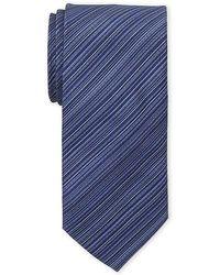Kenneth Cole - Slim Stripe Tie - Lyst