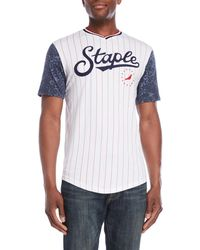 Staple Pigeon - Stars & Stripes Jersey Tee - Lyst