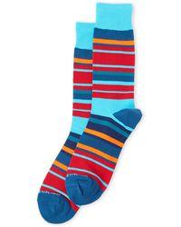 Unsimply Stitched - Hudson Stripe Socks - Lyst