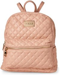 Bebe - Blush Maria Quilted Backpack - Lyst