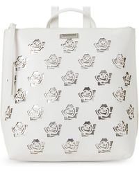 Tahari - White & Silver Rosey Backpack - Lyst