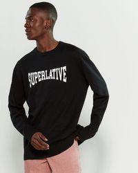 Wesc - Superlative Long Sleeve Sweater - Lyst