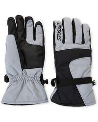 Spyder - Steel & Back Performance Ski Gloves - Lyst