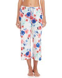 Hue - Poppy Print Capri Pajama Pants - Lyst