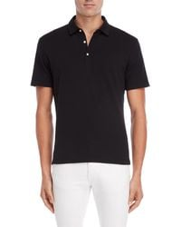 Daniel Hechter - Black Knit Polo - Lyst