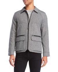 Victorinox - Herringbone Blouson Jacket - Lyst
