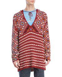 Missoni - Knit Pullover Hoodie - Lyst