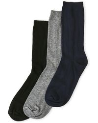 Hue - 3-Pack Triple Rib Socks - Lyst