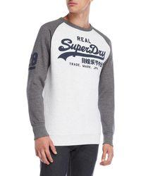Superdry - Vintage Raglan Sleeve Sweatshirt - Lyst