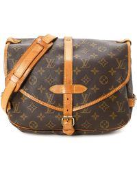 5670e74bb8f8 Louis Vuitton - Saumur 30 Messenger Bag - Vintage - Lyst