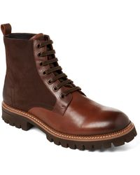 Zanzara - Brown Millet Lace-up Leather Boots - Lyst