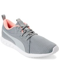 Lyst - Puma Speed 300 Ignite White rose Red fluorescent Peach Ankle ... 854b39d21