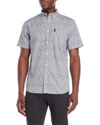 Ben Sherman - Button-down Printed Shirt - Lyst