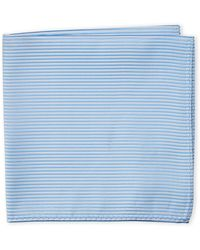 Geoffrey Beene - Tonal Ribbed Pocket Square - Lyst