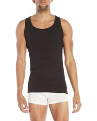 CALVIN KLEIN 205W39NYC - 3-Pack Classic Fit Ribbed Tanks - Lyst