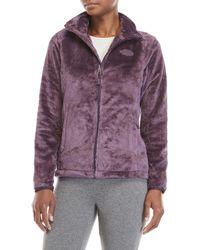 The North Face - Osito Fleece Zip Jacket - Lyst