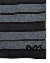 MICHAEL Michael Kors - Striped Scarf - Lyst
