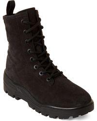 Yeezy Season 6 Suede Combat Boots