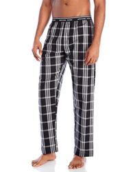 Michael Kors - Plaid Woven Pajama Pants - Lyst
