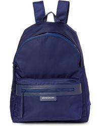 Longchamp - Navy Le Pliage Neo Large Backpack - Lyst
