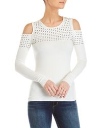 Bailey 44 - Still The One Studded Cold Shoulder Top - Lyst