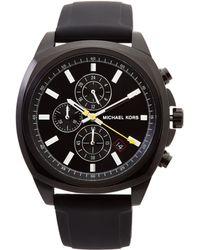 Michael Kors - Mk8649 Black Bryson Watch - Lyst