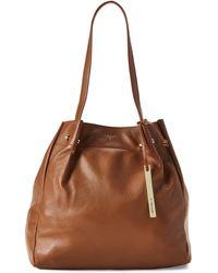 777243bc5eff Lyst - Miu Miu Handbags Kfz Naturale+caramel in Orange