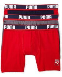 PUMA - 3-pack Heritage Boxer Briefs - Lyst