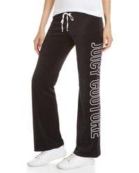 Juicy Couture - Del Rey Velour Pants - Lyst