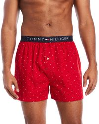 Tommy Hilfiger   Woven Boxer Shorts   Lyst