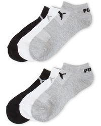 PUMA | 6-pack No-show Socks | Lyst