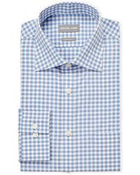 Michael Kors - Stream Check Regular Fit Dress Shirt - Lyst