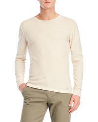 GAUDI - Textured Knit Sweater - Lyst