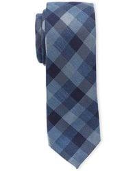 Ben Sherman - Slim Leonard Check Tie - Lyst