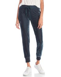 Re:named - Velour Joggers - Lyst